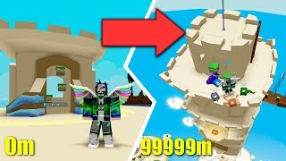 ⭐ THE BIGGEST DEFENSIVE CASTLE OF THE SAND!! | ROBLOX ⭐