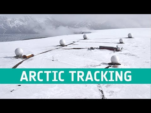 Tracking satellites from the Arctic