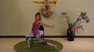 """Side Saddle"" Sequence for Hips, Torso and Shoulders - Thanks Kathryn!"