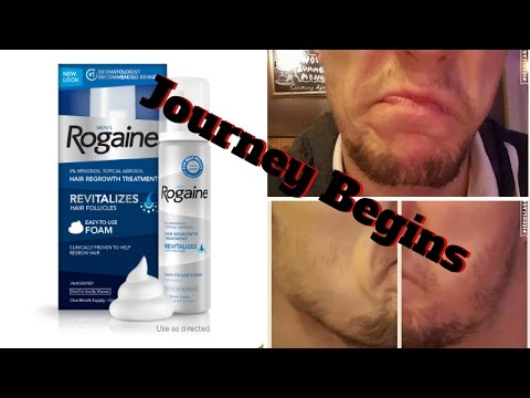 Minoxidil Beard | The Journey Begins |The Experiment |  #facialfuzzfridays