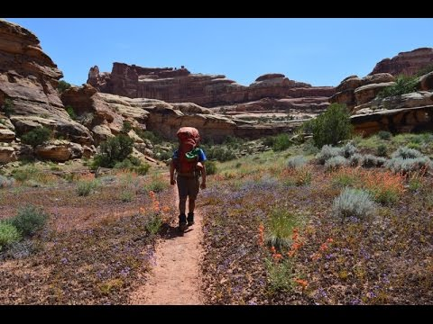 Backpacking Canyonlands National Park 8 Days In The Maze YouTube