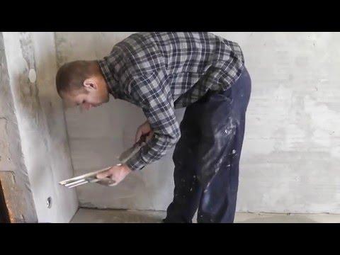 Как шпаклевать стены под обои, чтобы затем их не шкурить!
