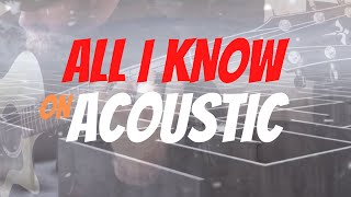 Karnivool - All I Know (Ro's Acoustic-Instrumental)
