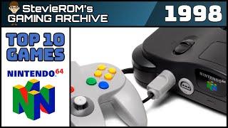 Top 10 N64 Games 1998