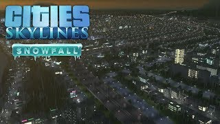 Taking an early look at Cities Skylines: Snowfall DLC on Xbox One!