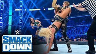 Rhea Ripley & Tegan Nox vs. Fire & Desire: SmackDown, Nov. 1, 2019