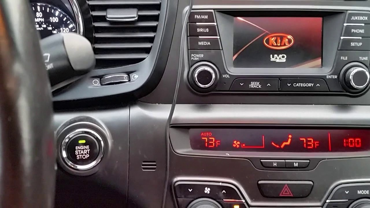 diy kia uvo radio no sound soft and hard reset restore reset [ 1280 x 720 Pixel ]