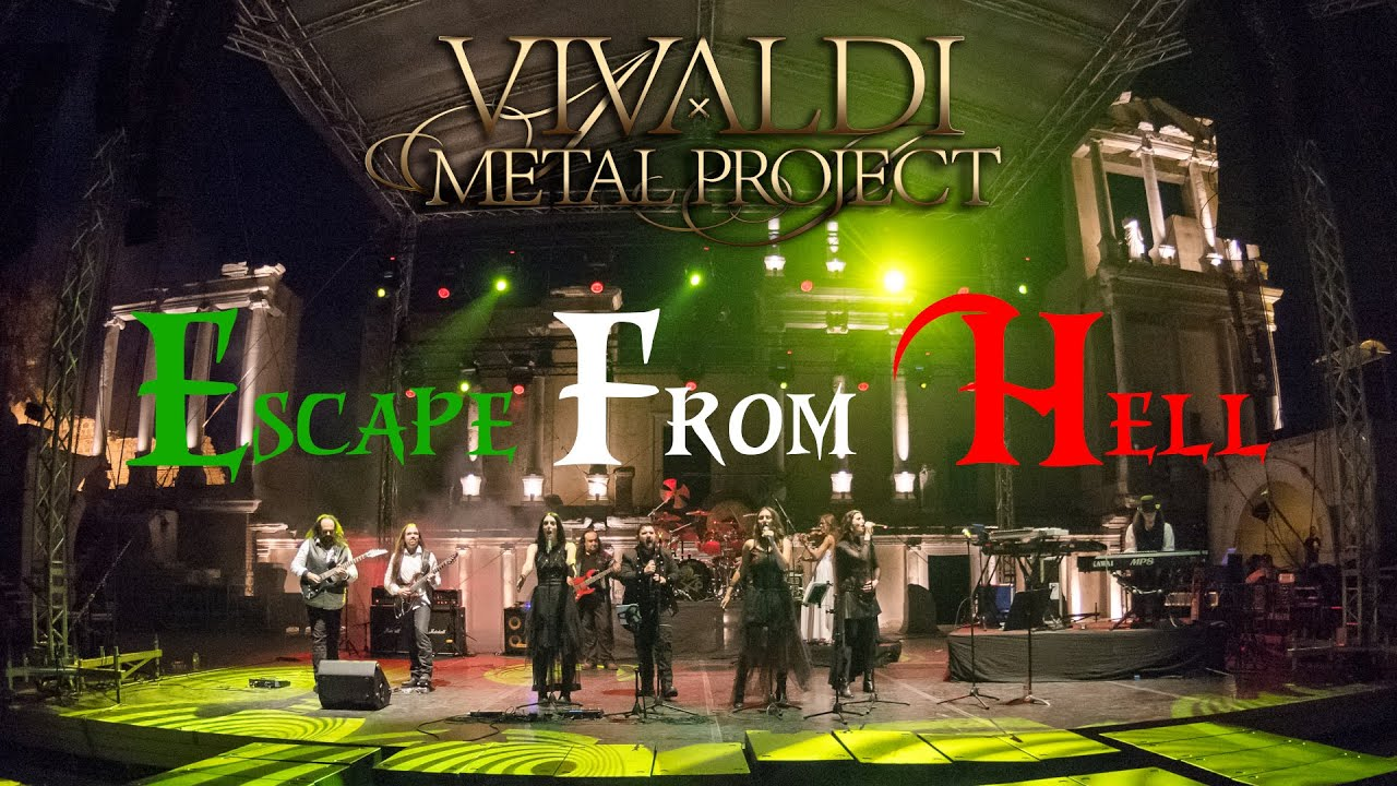 Vivaldi Metal Project - Escape From Hell - Live in Plovdiv 2018 [Official Video]
