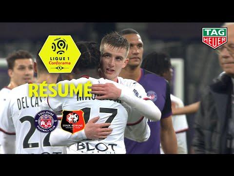 Toulouse FC - Stade Rennais FC ( 0-2 ) - Résumé - (TFC - SRFC) / 2019-20
