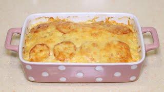 Проще запеканки не придумать Быстрый ужин из обычной картошки