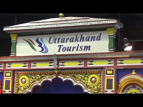 Exotic Uttarakhand Tourism Stall At TTF 2014 At Kolkata (Calcutta), India HD Video