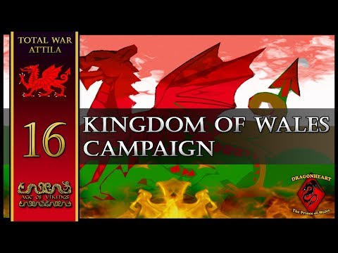 FINANCIAL GAIN! Kingdom of Wales Campaign | Age of Vikings Mod - Total War: Attila #16