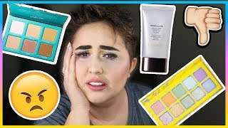 FULL FACE USING PRODUCTS I HATE AND REGRET BUYING | BRUTAL