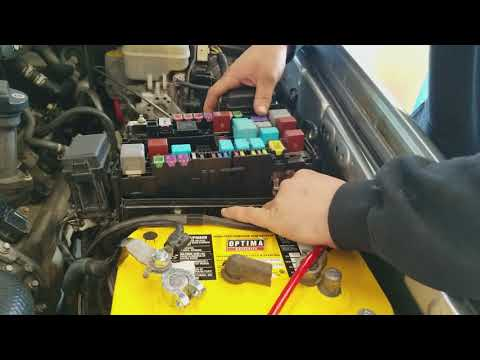 2005 Toyota 4runner alternator 140 amp fuesible link fuse replacement