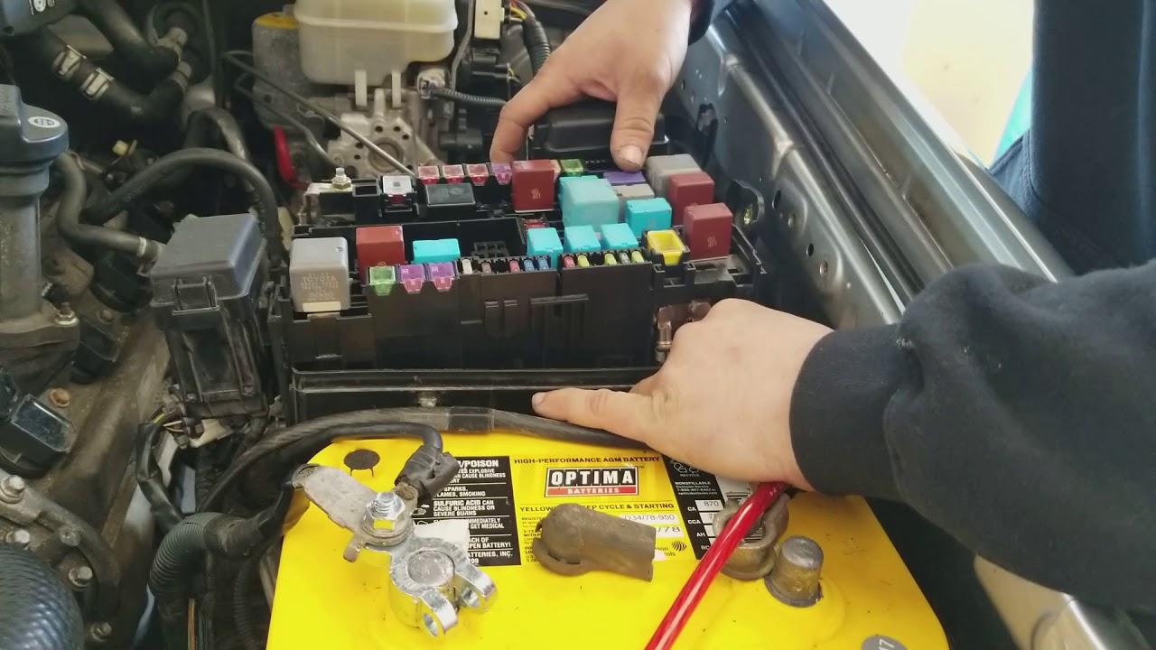 2005 toyota 4runner alternator 140 amp fuesible link fuse replacement [ 1280 x 720 Pixel ]