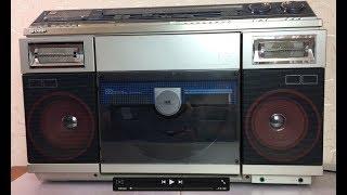 Медиакомбайн 80-х Sharp VZ-V2. Ремонт проигрывателя пластинок