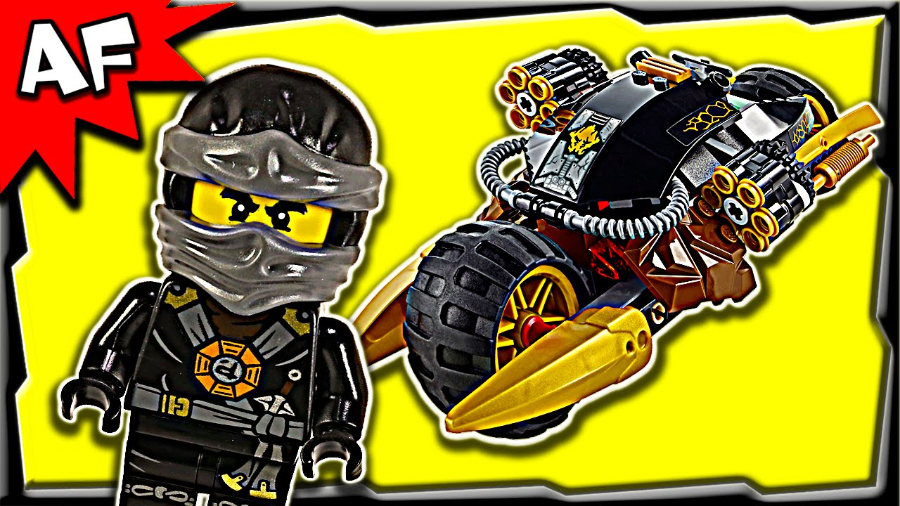 lego ninjago coles blaster bike 70733 ghost army stop motion build review youtube