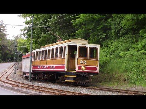 Manx Electric Railway Ramsey to Douglas Derby Castle