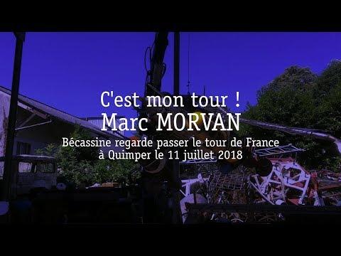 Marc MORVAN - Bécassine au Tour de France, Quimper le 11 juillet 2018 streaming vf