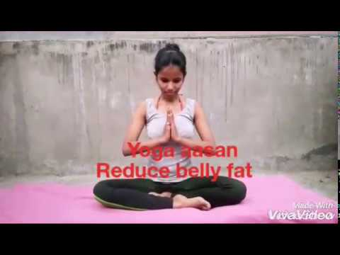 yoga aasan for reduce belly fat  youtube
