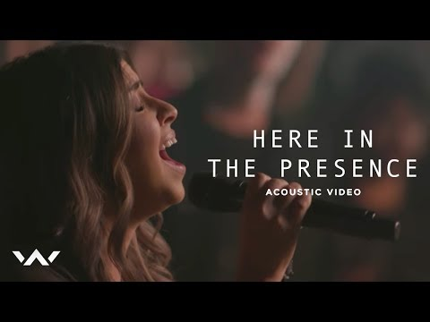 Here In The Presence   Acoustic Sessions  Elevation Worship