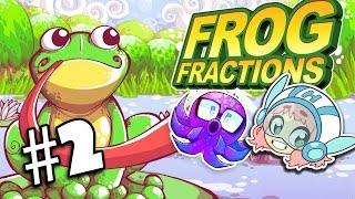 Frog Fractions - It's a Bug Eat Bug World - PART 2 - Commander Holly Plays feat. Octopimp