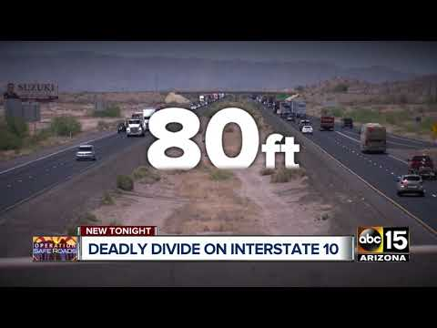Median Barriers The Answer? Deadly I-10 Crashes Cost Arizona Millions