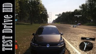 Volkswagen Golf GTi | Street Spec - The Crew - Test Drive Gameplay (PC HD) [1080p]