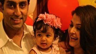 Aaradhya Bachchan's 1st BIRTHDAY BASH PHOTOS