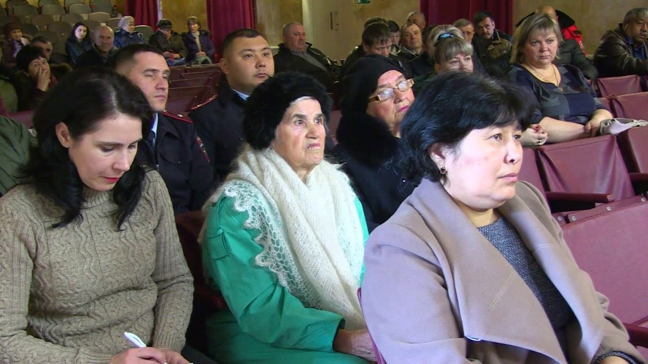 Ежегодное собрание жителей в Красносельце