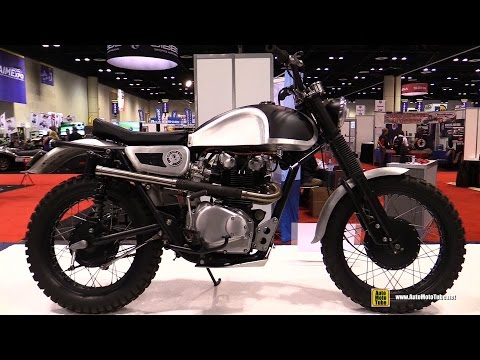 1973 Honda CL450 Customized by Standard Motorcycle Co - Walkaround - 2015 AIMExpo Orlando