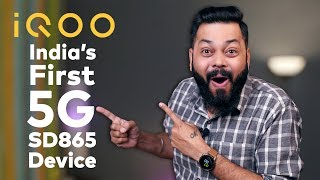 IQOO To Launch India's First 5G Device & SD865 Smartphone ⚡ ⚡ ⚡  Everything You Need To Know
