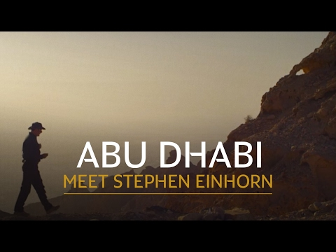 Stephen Einhorn  Traveling Business Class to Abu Dhabi with Etihad Airways