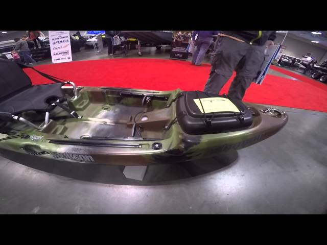 2016 Jackson Kayaks Skipper Youth Kayak Overview
