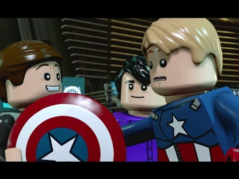 LEGO Marvel's Avengers 100% Guide - Chapter 4: Shakespeare in the Park (All Minikits, Red Brick)