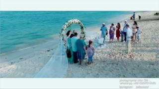 Свадьба на Хайнане . Свадебная церемония в Санья