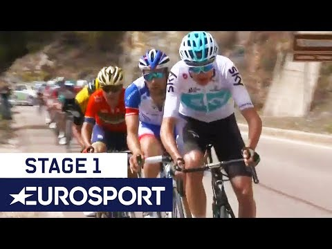 Tour of the Alps 2018 | Stage 1 Highlights | Cycling | Eurosport