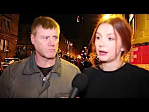 Glasgow Film Festival: Hannah Murray, Steven Waddington  Bridgend The  Carpet