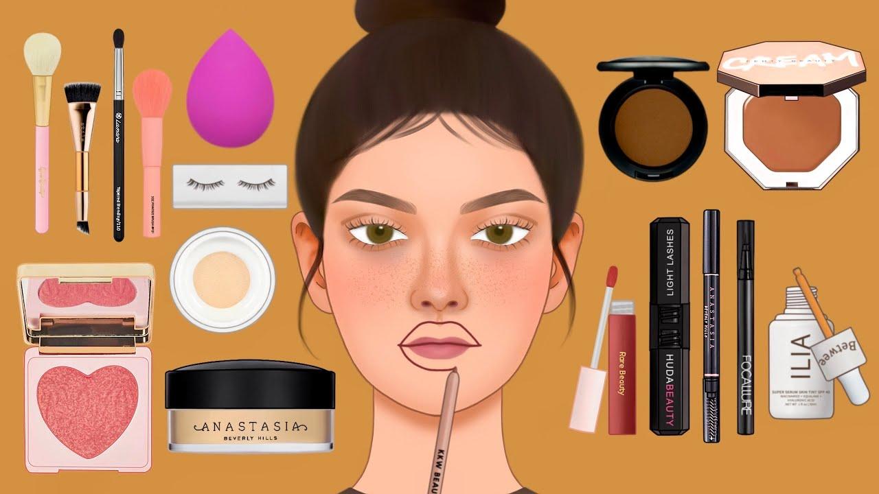 메이크업 ASMR 역대급 이미지 변신! 성형 메이크업 | 사기 메이크업 | catfish makeup | FAKE BIG LIPS | Transformation Make-up
