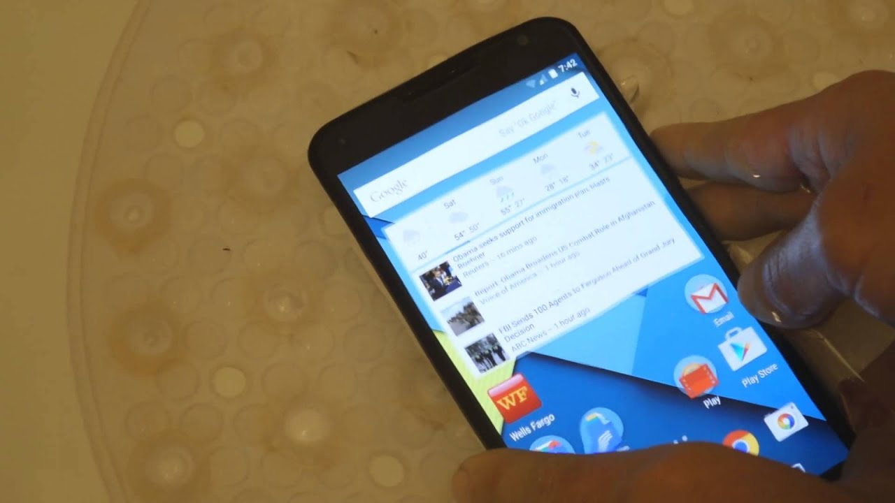 How water resistant is the Droid Turbo? - Android Forums at