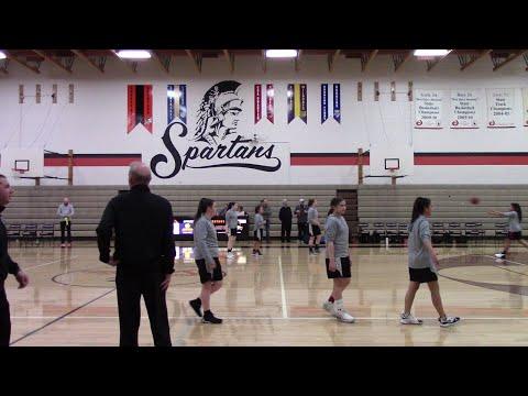 North Idaho Christian School Girl Basketball: NICS Varsity VS Post Falls