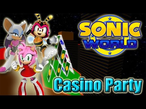 Sonic World - Casino Party (Custom Levels #36) Super Amy Fail!