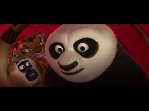 Kung Fu Panda 2  Funny  Sneaking into Gongmen City