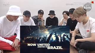 bts react Now United Paraná