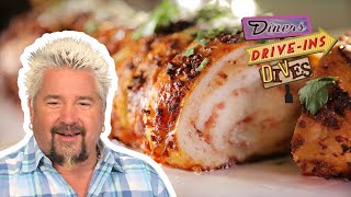 Guy Fieri Tries an