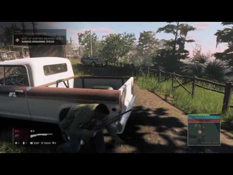 Mafia III Gameplay - Guns - Bust up Santini's Weapons Deal