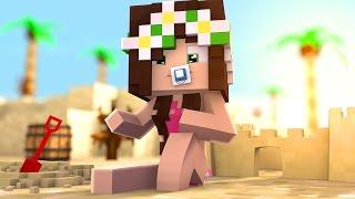 Minecraft: BEBÊ FLOKIIS VAI A PRAIA?   VIDA EM OUTRO MUNDO 2  #17
