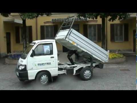 piaggio porter electric power - youtube