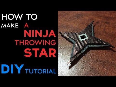 DIY Ninja star
