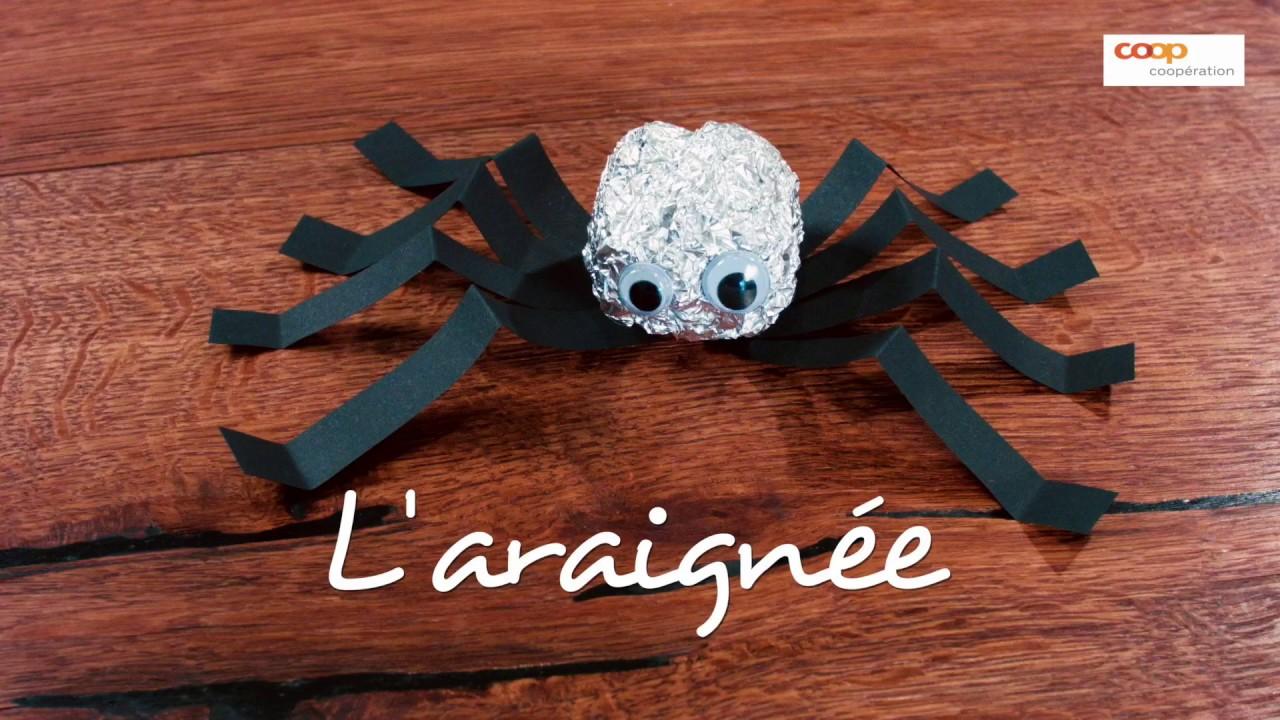 bricolage: l'araignée - youtube